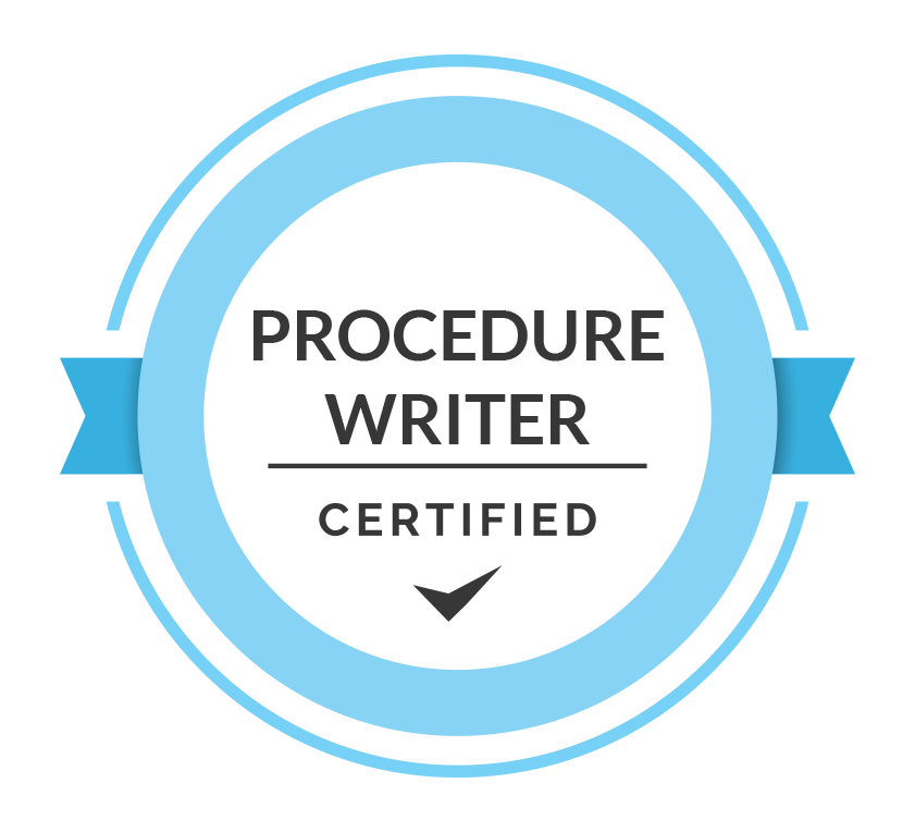 Writer Certification Icon